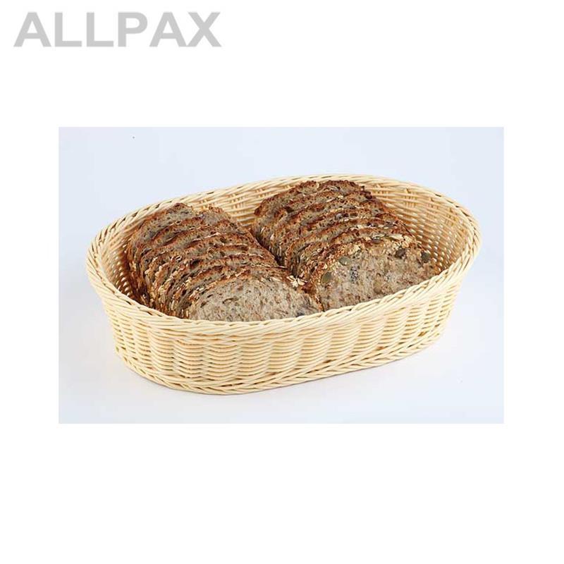 Brot- und Obstkorb braun