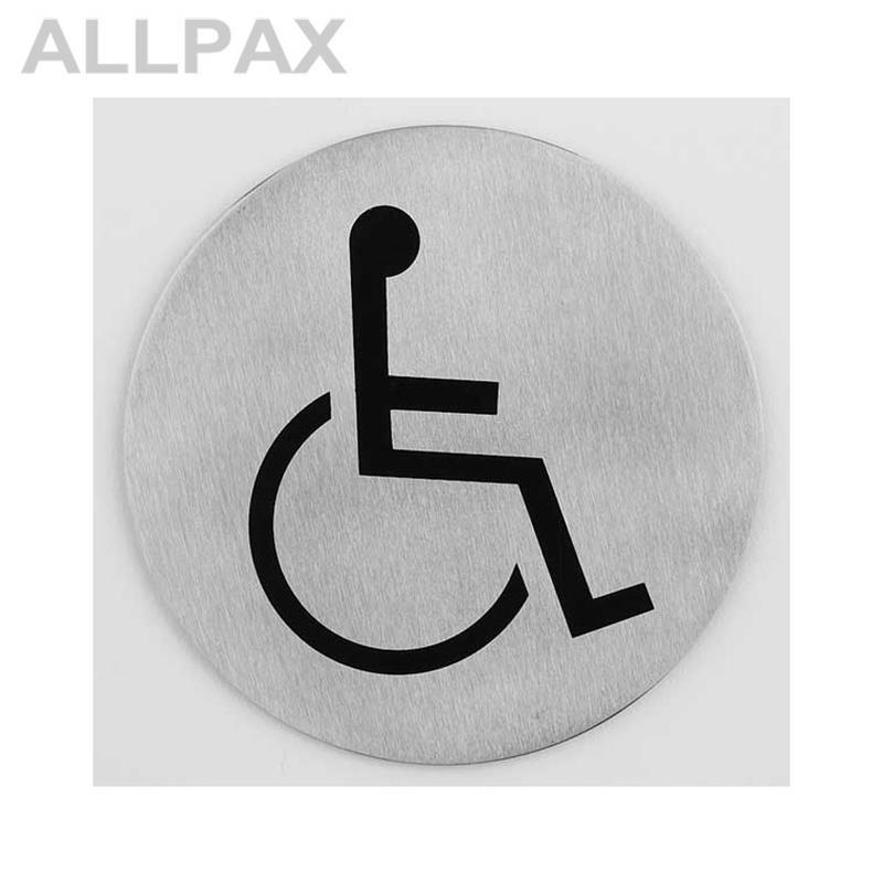 Türsymbol -Rollstuhl-
