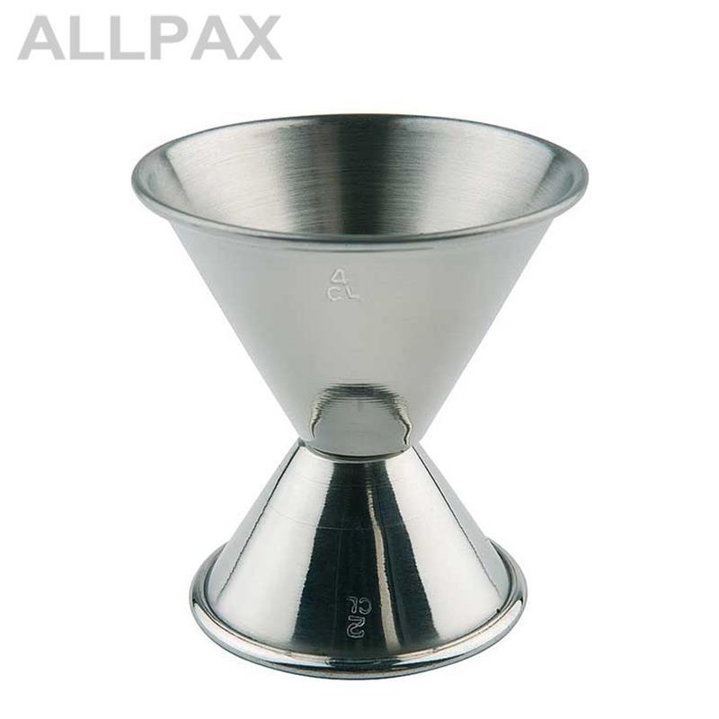 Cocktail-Doppelmaß 2cl / 4 cl Volumen