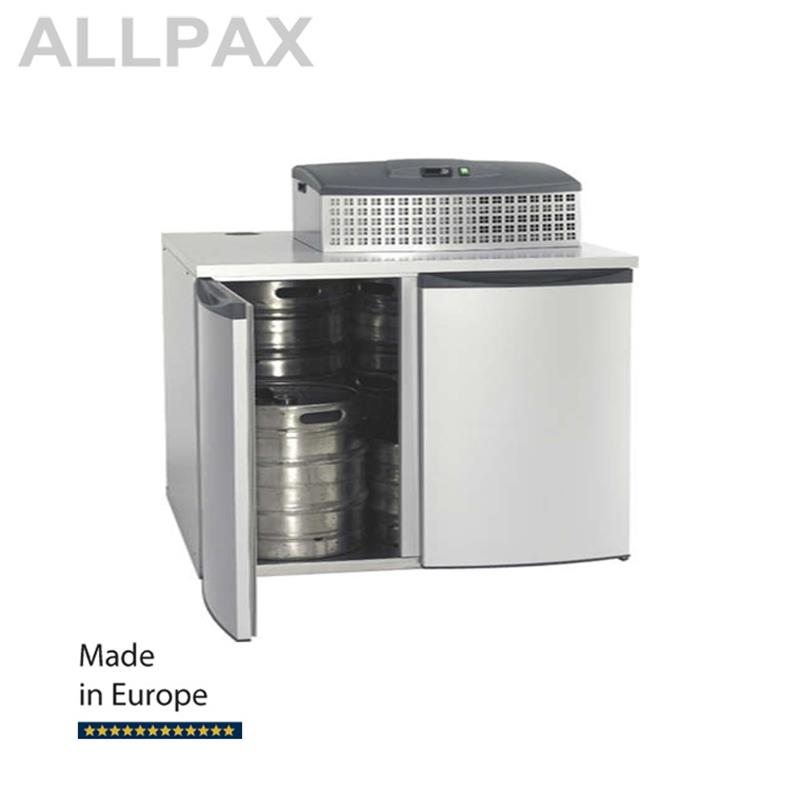 Fasskühler FK 4-XL inkl. Maschinenaufsatz FKM 2