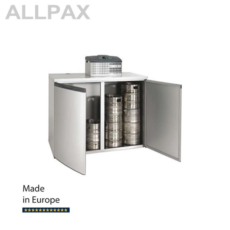 Fasskühler FK 8-XL inkl. Maschinenaufsatz FKM 2