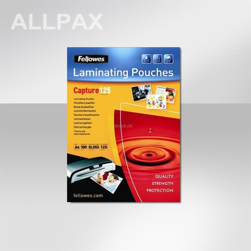 Laminierfolientaschen - glänzend - Format A6 -