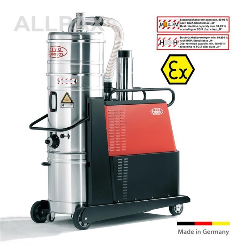 ExSchutz Hochleistungs-Drehstromsauger, 100 ltr. Behälter - 7,5 kW