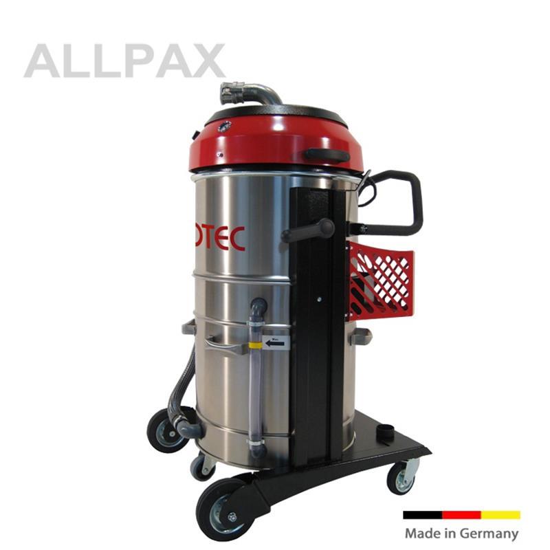 Späne-Flüssigkeitssauger mit Späne-Trennboden, 100 ltr. V2A Behälter