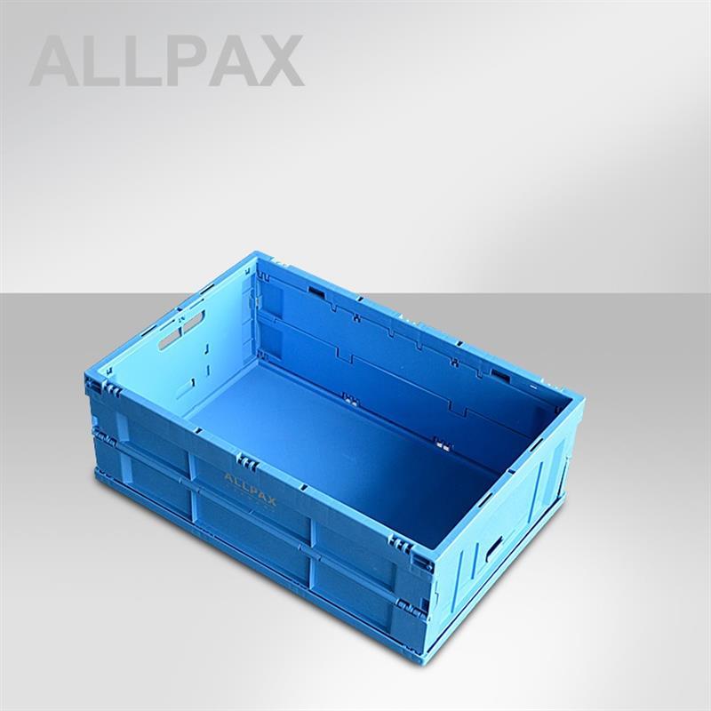 Klappbox Kunststoff LxBxH 40 x 60 x 22 cm, faltbar