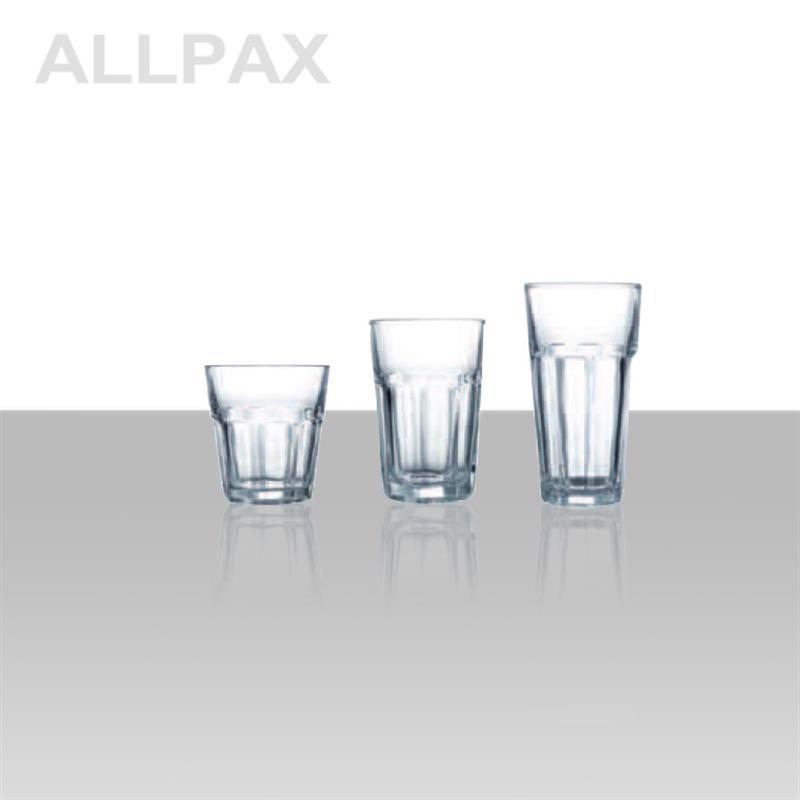 Trinkglas, nicht gehärtet - Serie TORILLA - 3 Ausführungen