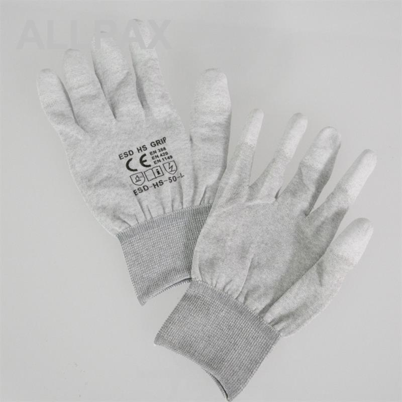 ESD Handschuhe Mischgewebe Gr. L