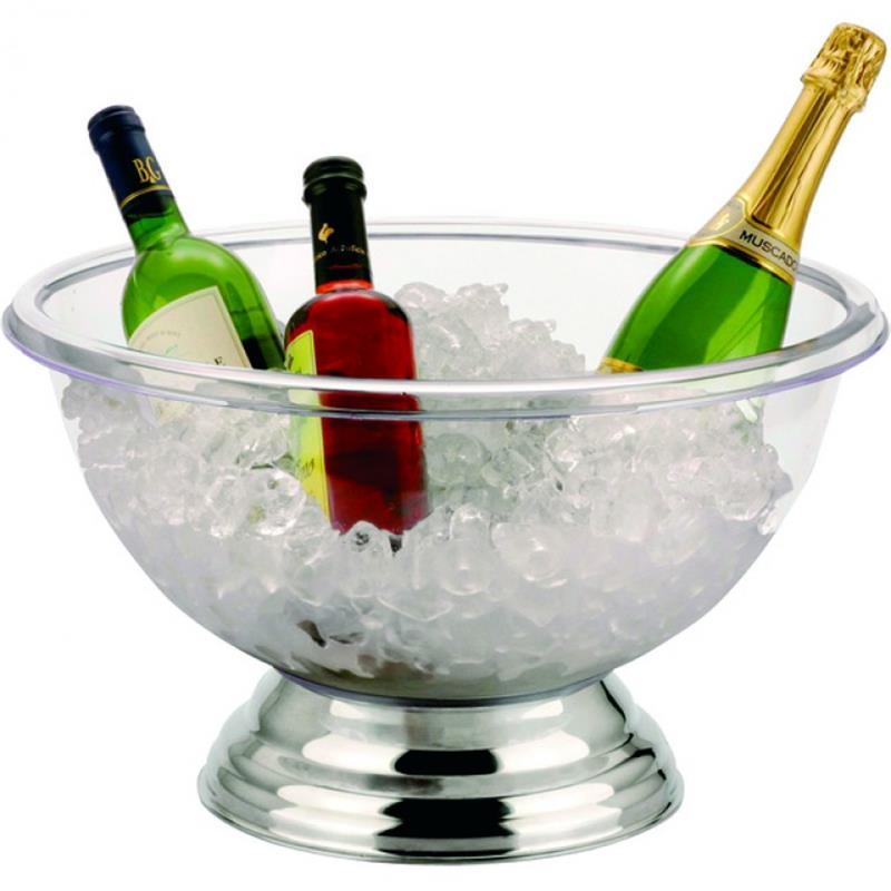 Champagner Kühler, transparent