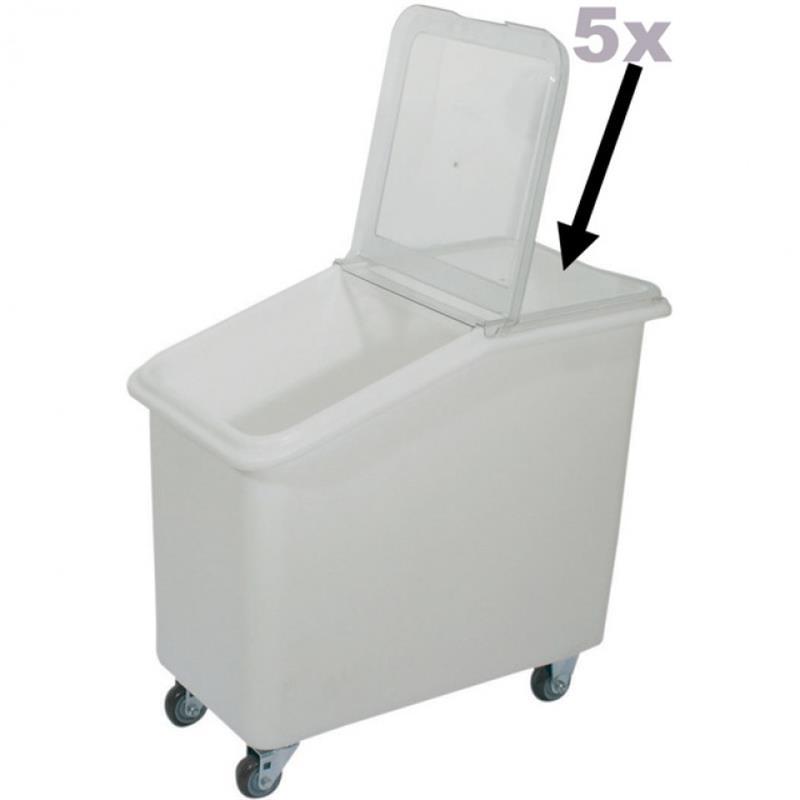 Zutatenbehälter 81, 102 und 120 Liter
