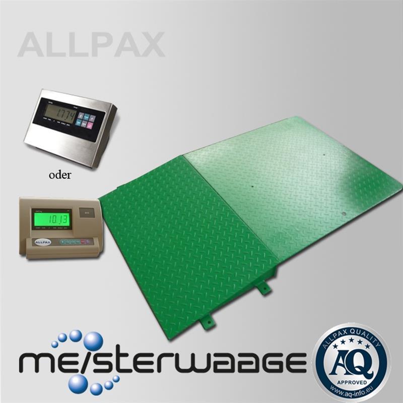 Allpax bodenwaage 1m x 1m for Sideboard 1m breit