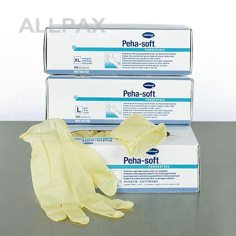Einmal Handschuhe - Latex, puderfrei, unsteril