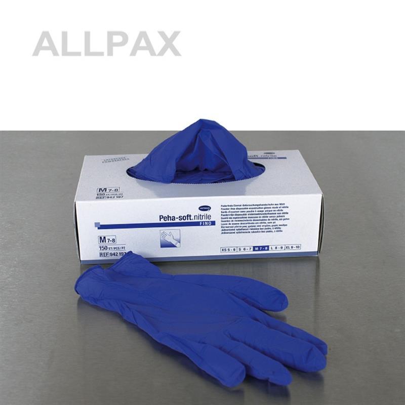 Einmal Handschuhe - Nitril, puderfrei, unsteril