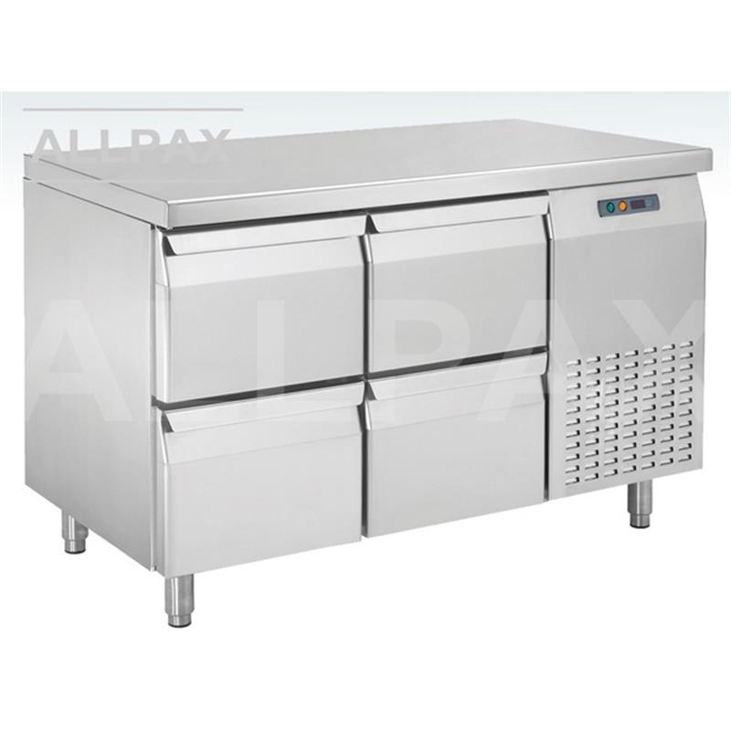 Kühltisch - 4 Schubladen