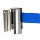 STOPPO afzetband voor muursysteem - trekband blauw