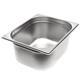 Gastronormbak 1/2 Roestvast staal, diepte 150 mm