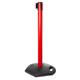 STOPPO XL afzetpaal Outdoor rood, trekband rood-wit